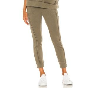 FP Movement Work it Out Joggers Army Green NWT